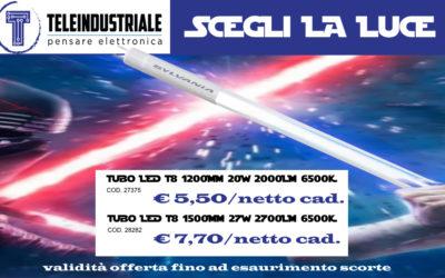 PROMOZIONE SYLVANIA TUBI T8 A LED