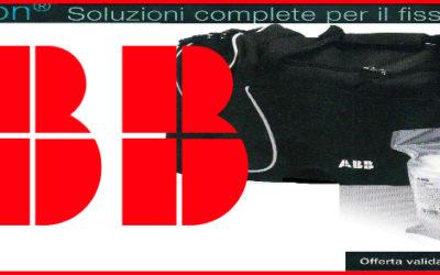 PROMOZIONE: ABB KIT COMPLETO PER FISSAGGIO CAVI + BORSA SPORTIVA