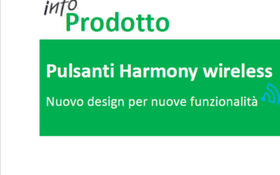 NEWS: SCHNEIDER – NUOVO DESIGN PULSANTI HARMONY WIRELESS